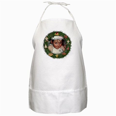 Christmas Apron By Lillyskite   Bbq Apron   Stg485d63ux6   Www Artscow Com Front