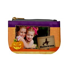 Halloween By Joely   Mini Coin Purse   P7d4y19pa9v6   Www Artscow Com Front