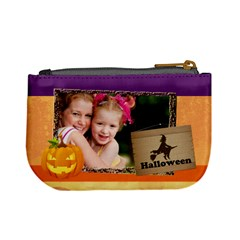 Halloween By Joely   Mini Coin Purse   P7d4y19pa9v6   Www Artscow Com Back