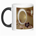 I Heart You brown white for HIM Custom Morph Mug