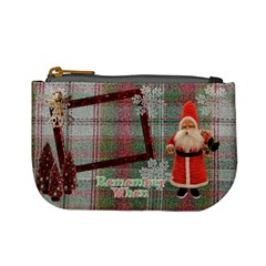Stocking Stuffer Remember When Santa Merry Christmas Mini Coin Purse By Ellan   Mini Coin Purse   72gmd9xyvc2f   Www Artscow Com Front