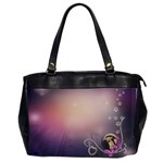 purple xl - Oversize Office Handbag (2 Sides)