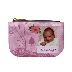 Isn t She Lovely Mini Coin Purse By Lil    Mini Coin Purse   L90k7akkuqmw   Www Artscow Com Front