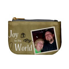 Chris And Paula By Melanie   Mini Coin Purse   O4oeli4dkzts   Www Artscow Com Front