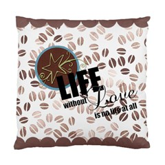 Home Cushion By Diana P   Standard Cushion Case (two Sides)   Arl7tjskrbig   Www Artscow Com Front