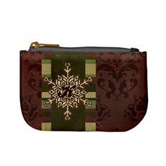 Monogram Snowflake Mini Coin Purse By Klh   Mini Coin Purse   E2v8tbo6vs9b   Www Artscow Com Front