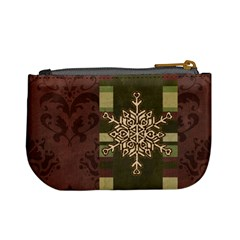 Monogram Snowflake Mini Coin Purse By Klh   Mini Coin Purse   E2v8tbo6vs9b   Www Artscow Com Back