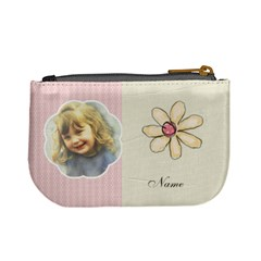 Flower Purse By Lillyskite   Mini Coin Purse   V6pbut114bvb   Www Artscow Com Back