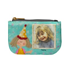 Birthday Present Purse By Lillyskite   Mini Coin Purse   Fomqr9k072c9   Www Artscow Com Front