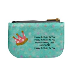 Birthday Present Purse By Lillyskite   Mini Coin Purse   Fomqr9k072c9   Www Artscow Com Back