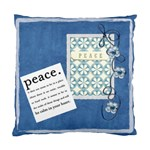peace pillow - Standard Cushion Case (Two Sides)