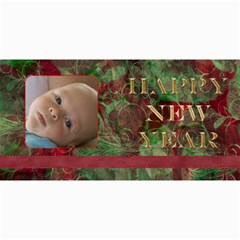 New Year 4x8 Card 1 By Joan T   4  X 8  Photo Cards   4a8qhe7hb1dc   Www Artscow Com 8 x4 Photo Card - 1