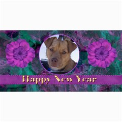 New Year 4x8 Card 2 By Joan T   4  X 8  Photo Cards   Nt0srimjc0rr   Www Artscow Com 8 x4 Photo Card - 4