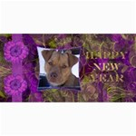 New Year 4x8 Card 3 - 4  x 8  Photo Cards