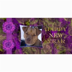 New Year 4x8 Card 3 By Joan T   4  X 8  Photo Cards   N0stzqa46up4   Www Artscow Com 8 x4 Photo Card - 8