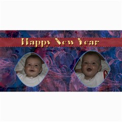 New Year 4x8 Card 5 By Joan T   4  X 8  Photo Cards   F7qruz3enryx   Www Artscow Com 8 x4 Photo Card - 8
