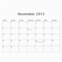 2015 Family Calendar By Martha Meier   Wall Calendar 11  X 8 5  (12 Months)   Gc3uexbyl5fd   Www Artscow Com Nov 2015