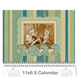 2015 Summer Breeze 12 Month Calendar - Wall Calendar 11  x 8.5  (12-Months)