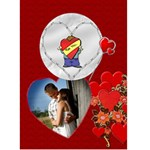 For You Valentine card - Greeting Card 5  x 7