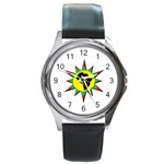 Connecting to African Womens/Mens Watch - Round Metal Watch