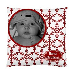 Cushion Case Christmas Snowflakes (2 Sided) By Jen   Standard Cushion Case (two Sides)   11dg6x5oxjnp   Www Artscow Com Front