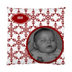 Cushion Case Christmas Snowflakes (2 Sided) By Jen   Standard Cushion Case (two Sides)   11dg6x5oxjnp   Www Artscow Com Back