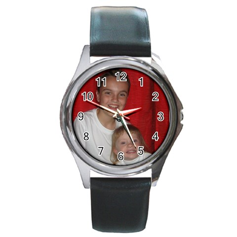 Round Watch For Patricia By Chantel Reid Demeter   Round Metal Watch   Jrzxauyx0tqf   Www Artscow Com Front