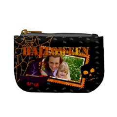 Halloween By Joely   Mini Coin Purse   Xy9ckc3clvsv   Www Artscow Com Front