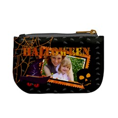 Halloween By Joely   Mini Coin Purse   Xy9ckc3clvsv   Www Artscow Com Back