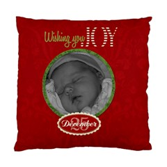 Wishing You Joy Cushion Case (2 Sided) By Jen   Standard Cushion Case (two Sides)   8s6y4f40eyw0   Www Artscow Com Back