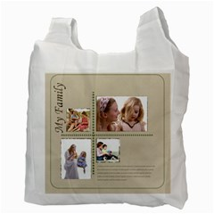 Family By Joely   Recycle Bag (two Side)   03um41o9d3rr   Www Artscow Com Back