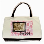 sweet smile pink hearts love classic tote - Classic Tote Bag (Two Sides)