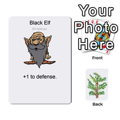 Elfdefense Cards 1 0 By Stephen Tavener   Playing Cards 54 Designs   Wja7rq8rdbjh   Www Artscow Com Front - Diamond4