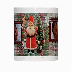 Santa Brought Us The Best Present In 2010 Coffee Mug By Ellan   White Mug   67jujy1lccu8   Www Artscow Com Center