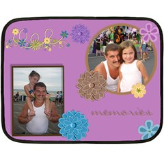My Blanket By Raeanne   Double Sided Fleece Blanket (mini)   Rtf1yse5fr5k   Www Artscow Com 35 x27 Blanket Back