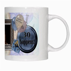 30th Birthday Mug By Lil    White Mug   2x2jckh4xkus   Www Artscow Com Right