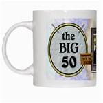 50th Birthday Mug - White Mug