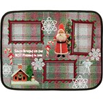 Santa Brought Us the BEST Present in 2011 Mini Fleece Blanket - Fleece Blanket (Mini)