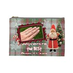 Santa Brought Us the BEST Present in 2010 Large Cosmetic Bag - Cosmetic Bag (Large)