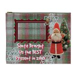 Santa Brought Us the BEST Present in 2010 cosmetic case - Cosmetic Bag (XL)