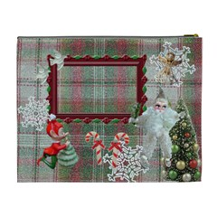 Santa Brought Us The Best Present In 2010 Cosmetic Case By Ellan   Cosmetic Bag (xl)   Le1825id7c9x   Www Artscow Com Back