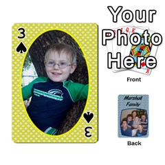Cards Completed By Dianne Marshall   Playing Cards 54 Designs   Dmrgk9jfs2vr   Www Artscow Com Front - Spade3