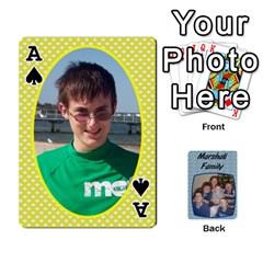Ace Cards Completed By Dianne Marshall   Playing Cards 54 Designs   Dmrgk9jfs2vr   Www Artscow Com Front - SpadeA