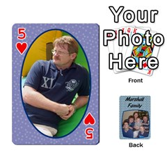 Cards Completed By Dianne Marshall   Playing Cards 54 Designs   Dmrgk9jfs2vr   Www Artscow Com Front - Heart5