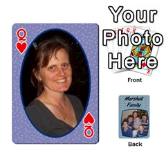 Queen Cards Completed By Dianne Marshall   Playing Cards 54 Designs   Dmrgk9jfs2vr   Www Artscow Com Front - HeartQ