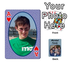 Ace Cards Completed By Dianne Marshall   Playing Cards 54 Designs   Dmrgk9jfs2vr   Www Artscow Com Front - HeartA