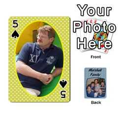 Cards Completed By Dianne Marshall   Playing Cards 54 Designs   Dmrgk9jfs2vr   Www Artscow Com Front - Spade5