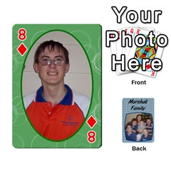 Cards Completed By Dianne Marshall   Playing Cards 54 Designs   Dmrgk9jfs2vr   Www Artscow Com Front - Diamond8