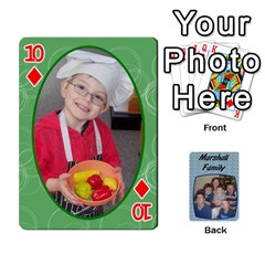 Cards Completed By Dianne Marshall   Playing Cards 54 Designs   Dmrgk9jfs2vr   Www Artscow Com Front - Diamond10