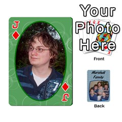 Jack Cards Completed By Dianne Marshall   Playing Cards 54 Designs   Dmrgk9jfs2vr   Www Artscow Com Front - DiamondJ